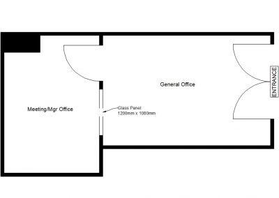 Suite 02-06 – approx. 250sqft